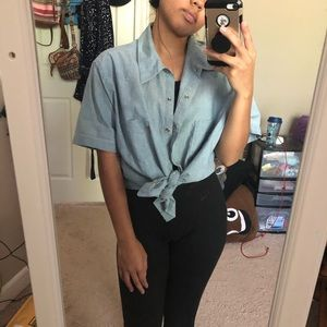 thrifted XL Levi's men's button up